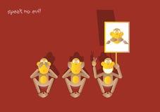 28-3de aap stock illustratie