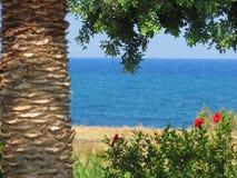 De aard en de diversiteit van de kust van Kreta royalty-vrije stock afbeelding