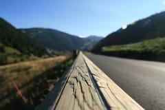 De aard van Andorra in September stock afbeeldingen