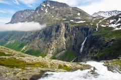 De aard van de zomer Noorwegen Stock Fotografie