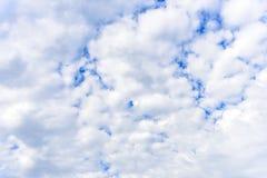 De aard van donkere hemel met bewolkt in de ochtend Royalty-vrije Stock Foto's