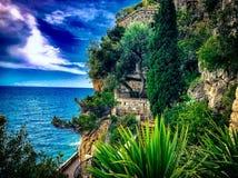 De aard van Monte Carlo Stock Foto's