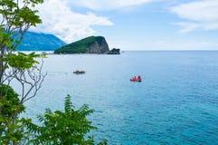 De aard van Montenegro Stock Afbeelding
