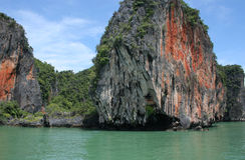 De aard van Phuket Stock Fotografie