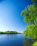 De aard van rivieren Royalty-vrije Stock Foto
