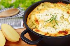 De aardappel bakt Stock Foto