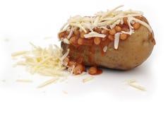 De Aardappel van het jasje stock fotografie