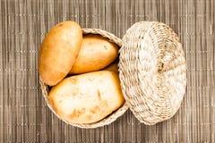 De aardappel wattled binnen doos Royalty-vrije Stock Afbeelding