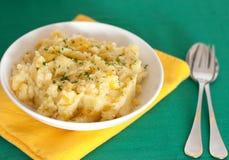 De aardappelbrij van de raap Stock Foto