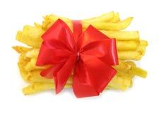 De aardappels van frieten Royalty-vrije Stock Foto's