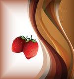 De aardbei van vruchten Stock Afbeeldingen