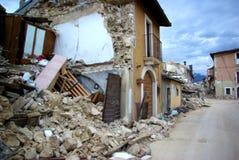 De aardbeving van Italië stock afbeelding