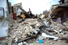 De aardbeving van Italië stock afbeeldingen