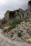 De aardbeving vernietigt Royalty-vrije Stock Foto's
