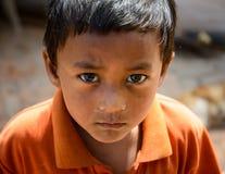 De aardbevingen van Nepal Royalty-vrije Stock Fotografie
