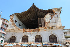 De aardbevingen van Nepal Royalty-vrije Stock Afbeelding