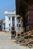 De aardbevingen van Nepal royalty-vrije stock afbeeldingen
