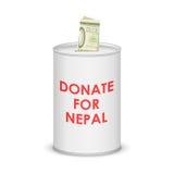 De aardbevings 2015 hulp van Nepal Royalty-vrije Stock Afbeelding
