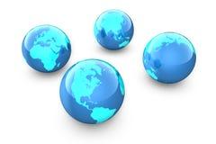 De aarde stock illustratie