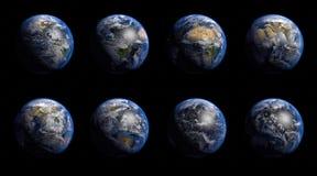 De aarde Stock Foto's