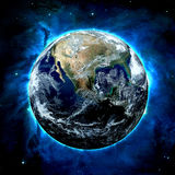 De Aarde - Elementen van dit Beeld dat door NASA wordt geleverd Royalty-vrije Stock Afbeelding