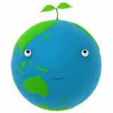De aarde en een installatie Stock Foto's