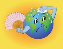 De aarde moet afkoelen Royalty-vrije Stock Afbeeldingen
