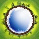De aarde is ons huis Royalty-vrije Stock Afbeeldingen