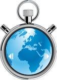 De aarde van de chronometer Vector Illustratie