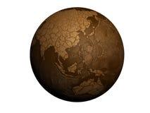 De aarde van de droogte Royalty-vrije Stock Foto's