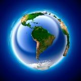 De Aarde van de ecologie Stock Foto