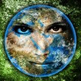 De Aarde van de moeder Stock Foto