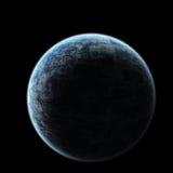 De Aarde van de verduistering vector illustratie