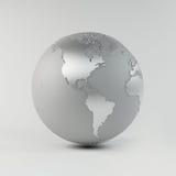 De Aarde van het chroom Stock Foto