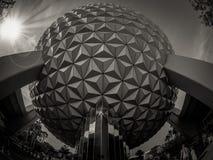 De Aarde van het Epcot Ruimteschip royalty-vrije stock afbeeldingen