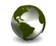 De Aarde van het gras Stock Foto