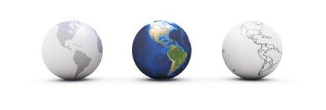 De Aarde van planeten stock illustratie