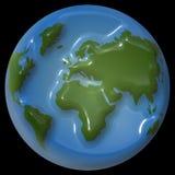 De aardeontwerp van Shiney Stock Fotografie