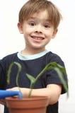De aardige jongen Stock Afbeelding