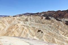 Het landschap van het Punt van Zabriskie van de Vallei van de dood Stock Foto