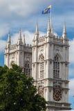 De Abdij Londen van Westminster Stock Foto's