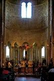 De Abdij van Antimo van Sant stock fotografie