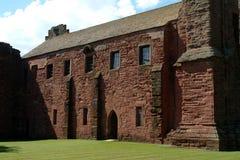 De Abdij van Arbroath, Schotland Royalty-vrije Stock Foto