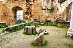 De abdij van Bellapais Stock Foto