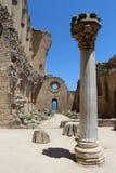 De Abdij van Bellapais in Cyprus Stock Afbeelding