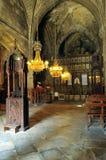 De Abdij van Bellapais, Kyrenia royalty-vrije stock foto's