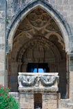 De Abdij van Bellapais, Kyrenia, Noord-Cyprus Stock Afbeeldingen