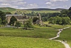 De abdij van Bolton Stock Afbeelding