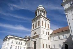 De Abdij van de benedictine, Pannonhalma, Hongarije stock foto