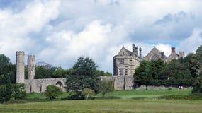 De abdij van de slag Stock Foto